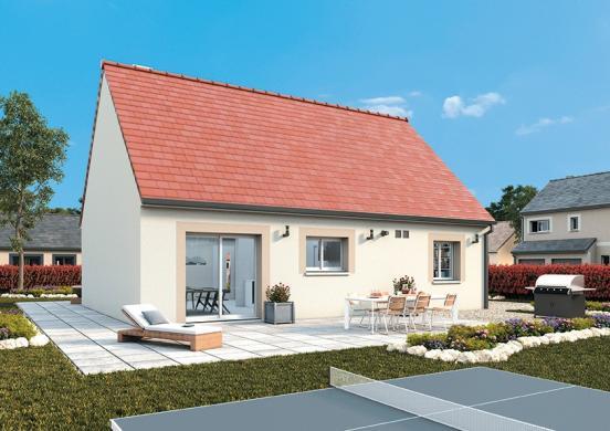 Maison+Terrain à vendre .(95 m²)(NASSANDRES) avec (MAISONS FRANCE CONFORT)