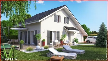 Maison+Terrain à vendre .(85 m²)(LES CLEFS) avec (MCA)