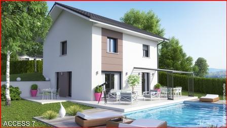 Maison+Terrain à vendre .(90 m²)(CHOISY) avec (MCA)