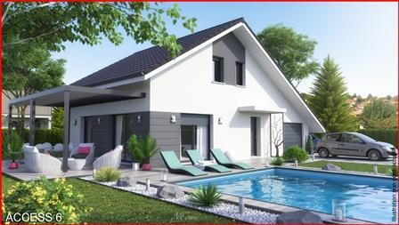Maison+Terrain à vendre .(98 m²)(ANNECY LE VIEUX) avec (MCA)