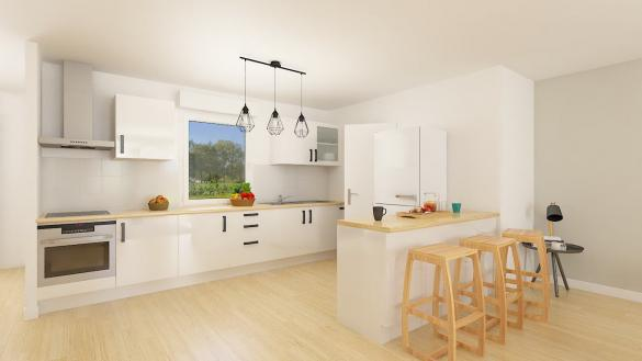 Maison+Terrain à vendre .(92 m²)(DALHUNDEN) avec (Maisons Phénix-67202-WOLFISHEIM)