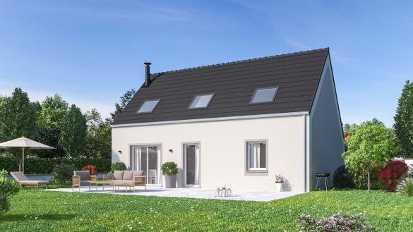 Maison+Terrain à vendre .(105 m²)(DRUSENHEIM) avec (Maisons Phénix-67202-WOLFISHEIM)