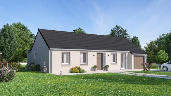 Maison+Terrain à vendre .(97 m²)(ROTHAU) avec (Maisons Phénix-67202-WOLFISHEIM)