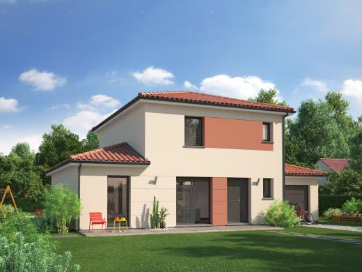 Maison+Terrain à vendre .(92 m²)(AMBERIEUX EN DOMBES) avec (MAISON FAMILIALE)