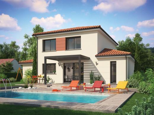 Maison+Terrain à vendre .(92 m²)(REYRIEUX) avec (MAISON FAMILIALE)
