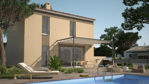 Maison+Terrain à vendre .(82 m²)(SAINT BRES) avec (MAISONS BALENCY)