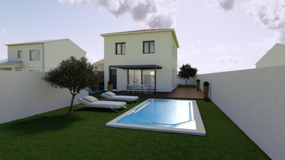 Maison+Terrain à vendre .(115 m²)(MURVIEL LES MONTPELLIER) avec (MAISONS BALENCY)