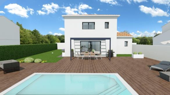 Maison+Terrain à vendre .(110 m²)(LECQUES) avec (MAISONS BALENCY)