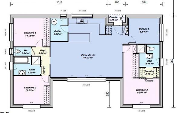 Maison+Terrain à vendre .(100 m²)(LECQUES) avec (MAISONS BALENCY)