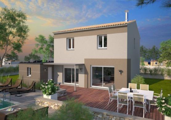 Maison+Terrain à vendre .(95 m²)(SAINT MATHIEU DE TREVIERS) avec (MAISONS BALENCY)