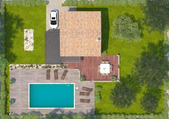 Maison+Terrain à vendre .(81 m²)(MURVIEL LES MONTPELLIER) avec (MAISONS BALENCY)