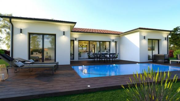 Maison+Terrain à vendre .(114 m²)(SAINT MAXIMIN) avec (TRADIBAT CONSTRUCTION)