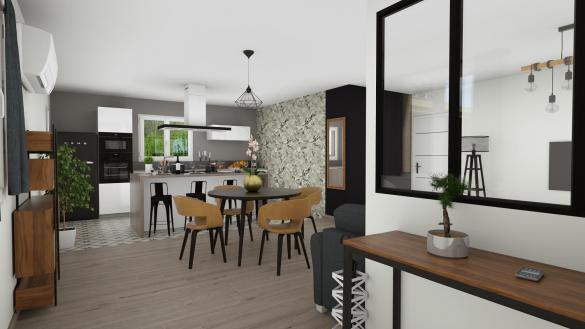 Maison+Terrain à vendre .(84 m²)(GIGNAC) avec (TRADIBAT CONSTRUCTION)