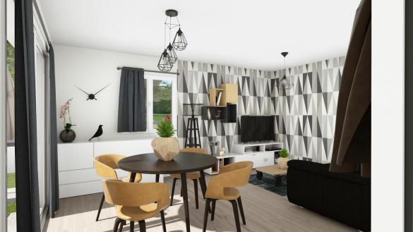 Maison+Terrain à vendre .(70 m²)(PEZENAS) avec (TRADIBAT CONSTRUCTION)