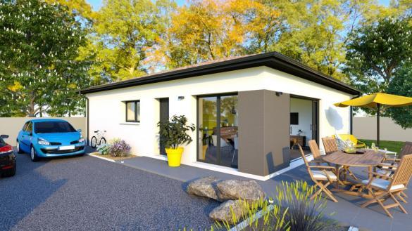 Maison+Terrain à vendre .(70 m²)(SAINT ANDRE DE SANGONIS) avec (TRADIBAT CONSTRUCTION)