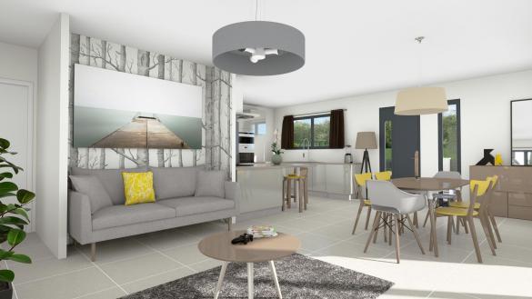 Maison+Terrain à vendre .(114 m²)(NIMES) avec (TRADIBAT CONSTRUCTION)