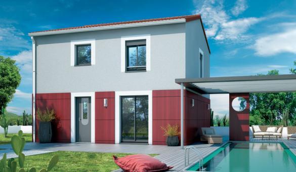 Maison+Terrain à vendre .(85 m²)(VIC LA GARDIOLE) avec (TRADIBAT CONSTRUCTION)