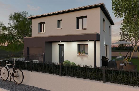 Maison+Terrain à vendre .(94 m²)(CALVISSON) avec (TRADIBAT CONSTRUCTION)