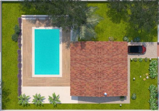 Maison+Terrain à vendre .(73 m²)(SAINT JEAN LASSEILLE) avec (MAISONS BALENCY)