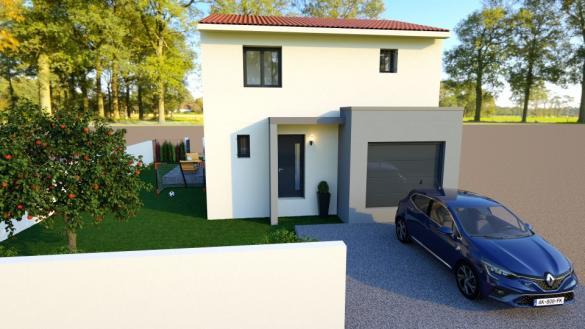 Maison+Terrain à vendre .(82 m²)(SALEILLES) avec (MAISONS BALENCY)