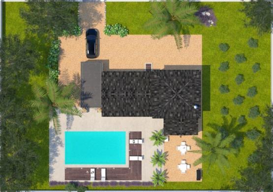 Maison+Terrain à vendre .(90 m²)(PRADES) avec (MAISONS BALENCY)