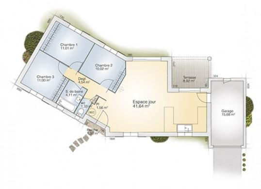 Maison+Terrain à vendre .(85 m²)(PERPIGNAN) avec (MAISONS BALENCY)