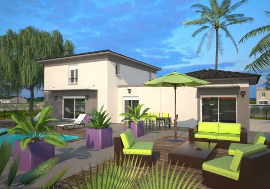 Maison+Terrain à vendre .(170 m²)(LAROQUE DES ALBERES) avec (MAISONS BALENCY)