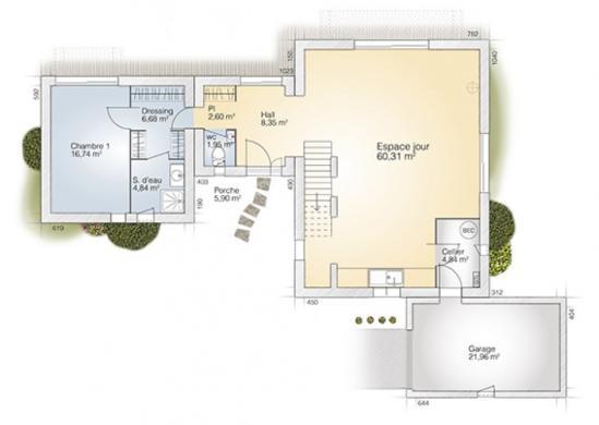 Maison+Terrain à vendre .(170 m²)(TARERACH) avec (MAISONS BALENCY)