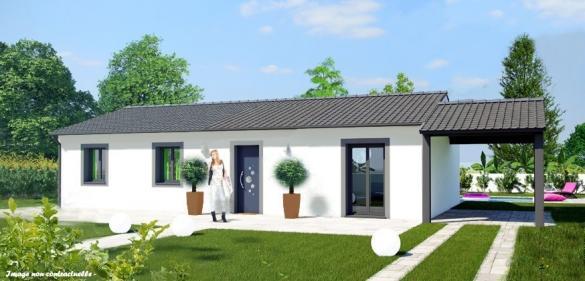 Maison+Terrain à vendre .(85 m²)(VALEILLE) avec (MAISON COBATI)