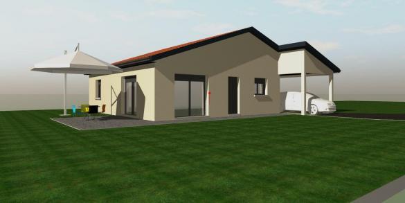 Maison à vendre .(104 m²)(FEURS) avec (MAISON COBATI)