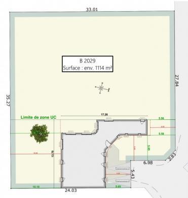 Maison+Terrain à vendre .(MARTILLAC) avec (GIB CONSTRUCTION)