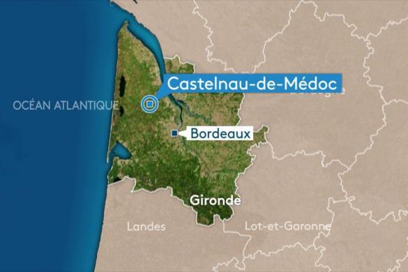 Terrain à vendre .(CASTELNAU DE MEDOC) avec (GIB CONSTRUCTION)