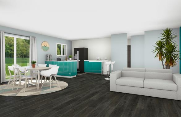 Maison+Terrain à vendre .(130 m²)(YCHOUX) avec (GIB CONSTRUCTION)
