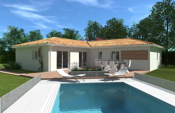 Maison+Terrain à vendre .(90 m²)(YCHOUX) avec (GIB CONSTRUCTION)