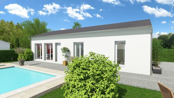 Maison+Terrain à vendre .(89 m²)(SAINT MEDARD EN JALLES) avec (GIB CONSTRUCTION)