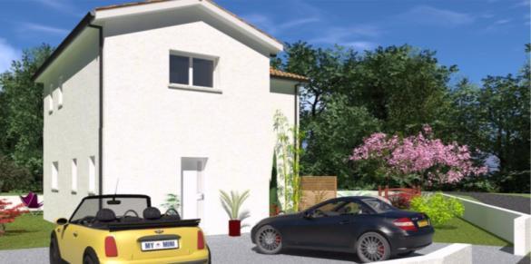 Maison+Terrain à vendre .(104 m²)(LEOGNAN) avec (GIB CONSTRUCTION)