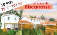 Maison+Terrain à vendre .(101 m²)(BISCARROSSE) avec (GIB CONSTRUCTION)