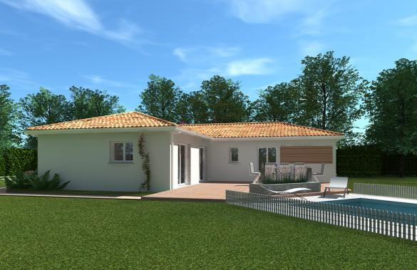 Maison+Terrain à vendre .(90 m²)(LIBOURNE) avec (GIB CONSTRUCTION)