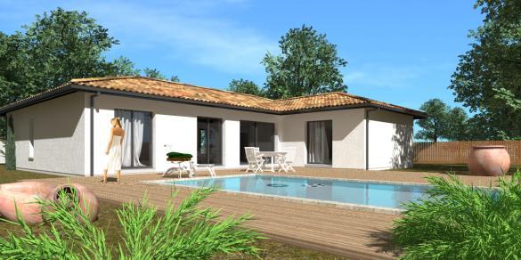 Maison+Terrain à vendre .(120 m²)(LE HAILLAN) avec (GIB CONSTRUCTION)