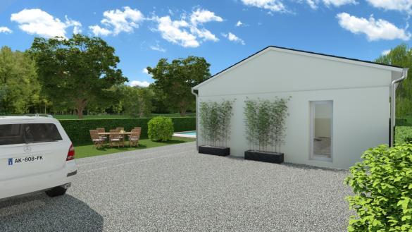 Maison+Terrain à vendre .(SAINT MEDARD EN JALLES) avec (GIB CONSTRUCTION)