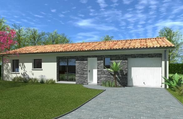 Maison+Terrain à vendre .(116 m²)(BARON) avec (GIB CONSTRUCTION)