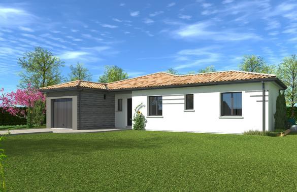 Maison+Terrain à vendre .(119 m²)(COUTRAS) avec (GIB CONSTRUCTION)