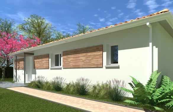Maison+Terrain à vendre .(110 m²)(VAYRES) avec (GIB CONSTRUCTION)