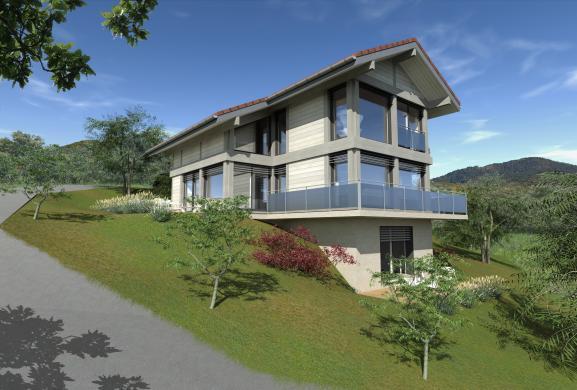 Maison+Terrain à vendre .(156 m²)(REIGNIER) avec (EDEN HOME)