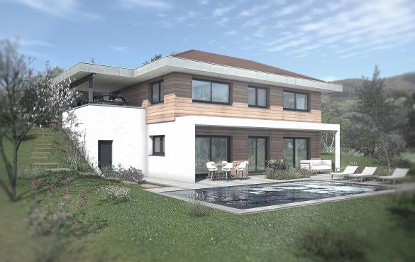Maison+Terrain à vendre .(118 m²)(SAINT CERGUES) avec (EDEN HOME)