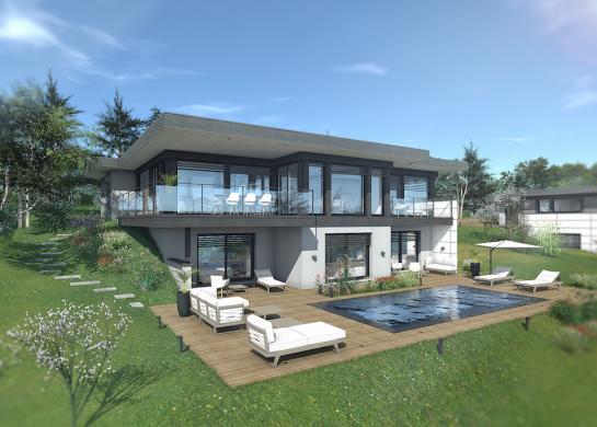 Maison+Terrain à vendre .(200 m²)(BOSSEY) avec (EDEN HOME)