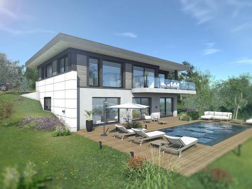 Maison+Terrain à vendre .(177 m²)(BOSSEY) avec (EDEN HOME)