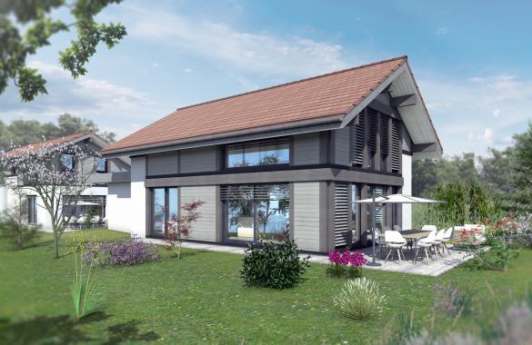 Maison+Terrain à vendre .(128 m²)(VALLEIRY) avec (EDEN HOME)