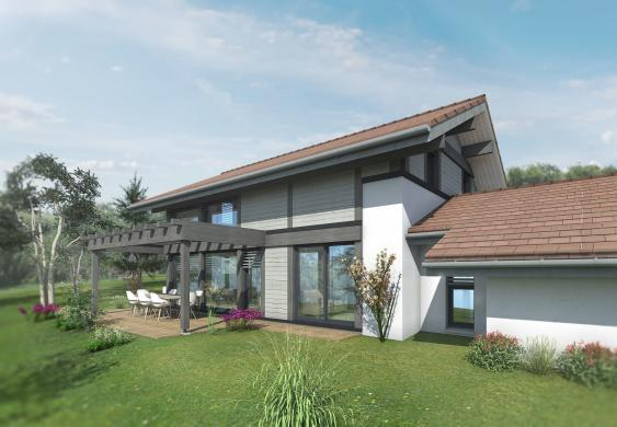 Maison+Terrain à vendre .(132 m²)(CUVAT) avec (EDEN HOME)