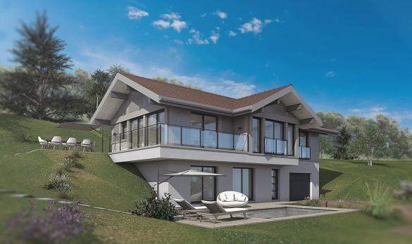 Maison+Terrain à vendre .(146 m²)(COLLONGES SOUS SALEVE) avec (EDEN HOME)